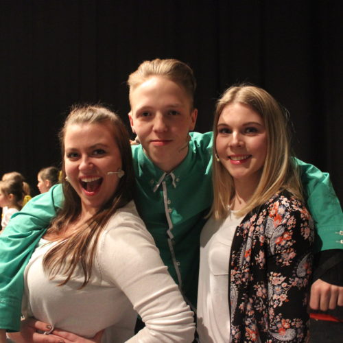 """Anika, Marvin & Nele - Moderatoren der Kinderveranstaltung """"Tanz durch den Märchenwald"""""""