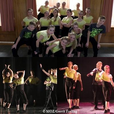 EXPRESS YOURSELF 22.TanzWoche 2014 - Choreo.: Nora Lehmann
