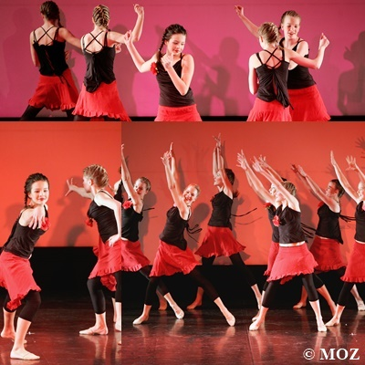 """Latino"" - 17. Tanzwoche (2009) - Choreograpfie: Sandra Meersch"