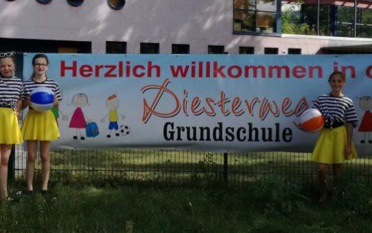 Einschulung in der Diesterweg Grundschule