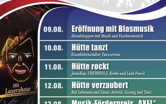 """""""Hütte tanzt"""" 10.8"""